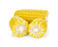 Corn isolated on white background Royalty Free Stock Photo