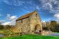 Corn mill in Bunratty Folk Park Royalty Free Stock Photo