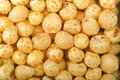 Corn puff cereal Stock Photos