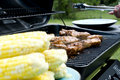 Corn and Ribs Royalty Free Stock Photo