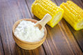 Corn starch Royalty Free Stock Photo