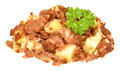 Corned Beef Hash Meal Royalty Free Stock Photo