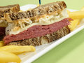 Corned Beef Sandwich Stock Photos