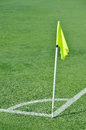 Corner Flag Royalty Free Stock Photo