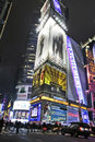 Corner of Times Square Royalty Free Stock Photography