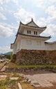 Corner Turret of Tanabe Castle in Maizuru, Japan Royalty Free Stock Photo