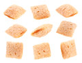 Cornflakes cube Stock Photography