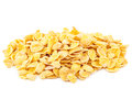 Cornflakes isolated on white background Royalty Free Stock Photo