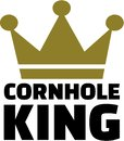 Cornhole King Royalty Free Stock Photo