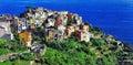 Corniglia , Cinque terre, Italy Royalty Free Stock Photo