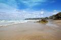Cornish beach, Bedruthan steps, Cornwall, UK Royalty Free Stock Photo