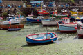 Cornish fishing boats Stock Image
