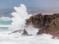 Cornish Storm at Sennen Cove Stock Images