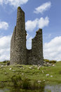 Cornish tine mine a ruined on the minnions on bodmin moor Stock Photography