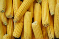 Corns on marketplace Stock Photo