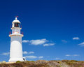 Corny point lighthouse yorke peninsula south australia Stock Photo