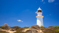 Corny point lighthouse yorke peninsula south australia Stock Photography