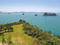 Coromandel peninsula wonderful view at north island of new zealand Royalty Free Stock Image