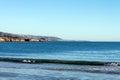 Corona Del Mar beach, Newport Beach California Royalty Free Stock Photo