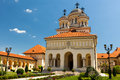 Coronation Cathedral in Alba Iulia, Romania Stock Image