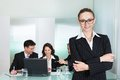 Corporate advancement and leadership Royalty Free Stock Photo