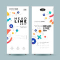 Corporate Banner - vector template illustration
