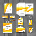 Corporate brand Business identity design Template Layout. Letter, Letterhead, Folder, card. Vector company triangle Royalty Free Stock Photo
