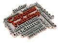 Corporate branding tools Royalty Free Stock Photo