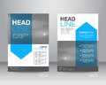 Corporate brochure flyer design layout template in A4 size, with