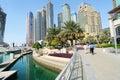 Corporate buildings in Dubai Stock Images