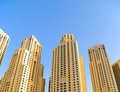 Corporate buildings in Dubai Stock Image