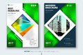 Corporate business annual report cover, brochure or flyer design. Leaflet presentation. Catalog with Abstract geometric