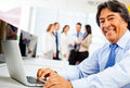 Corporate business worker Stock Image