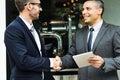 Corporate Businessmen Deal Handshake Concept Royalty Free Stock Photo