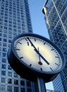 Corporate clock Stock Photography