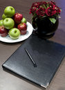 Corporate display book Stock Images