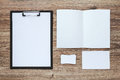 Corporate identity template set. Business stationery mock-up. Royalty Free Stock Photo