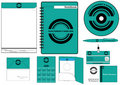 Corporate Identity Template Vector set Stock Photography