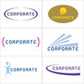 Corporate Logos Stock Image