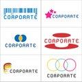 Corporate Logos Royalty Free Stock Image