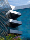 Corporate modern office building Stock Images