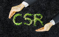 Corporate social responsibility Royalty Free Stock Photo