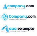 Corporate vector logo Stock Image