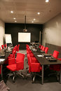 Corporative meeting room Royalty Free Stock Photo
