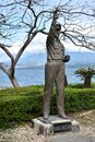 A statue of General MacArthur who was a five-star general Royalty Free Stock Photo