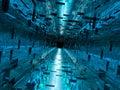 Corridoio alta tecnologia Fotografia Stock