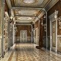 Koridor v palác