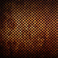 Corroded metal texture grid as background rusty Stock Photo