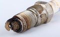 Corroded Spark Plug Stock Photography