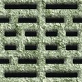 Corroded square vent seamless background Stock Images